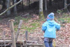 Spielen im Wald...